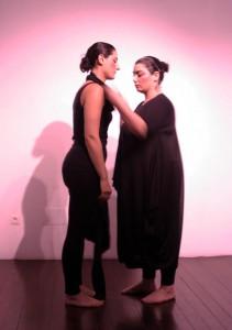 "performance ""Vida"" Monica Mura y Neves Seara"