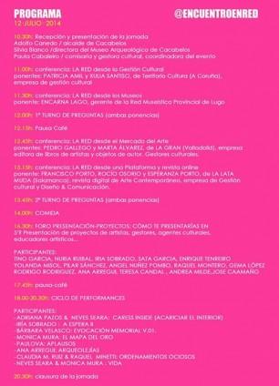 Programa II Encuentro Artistas en Red