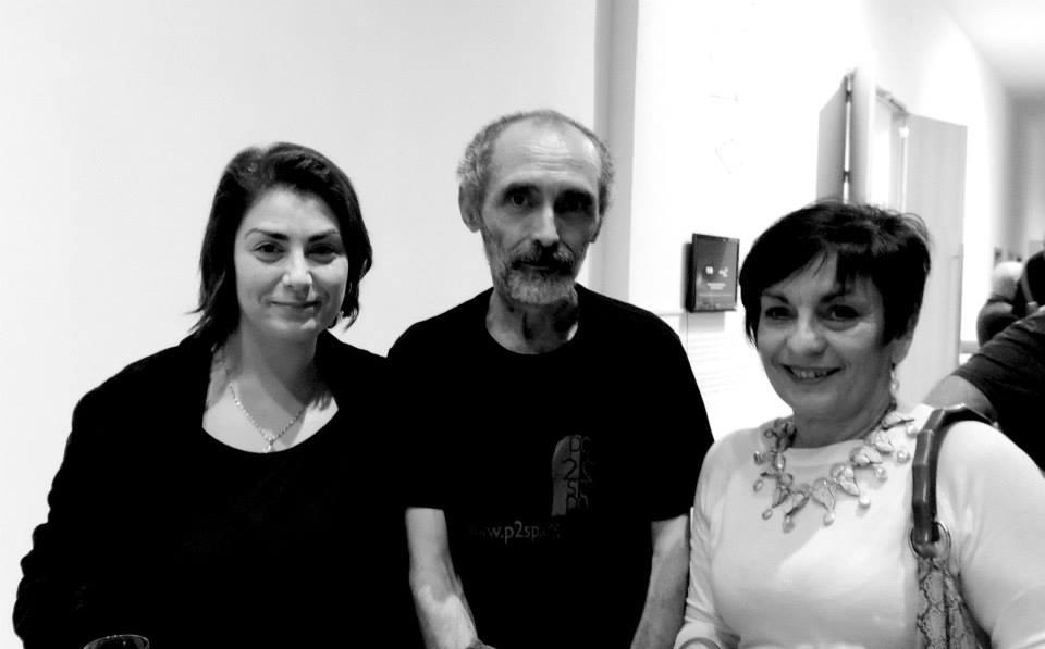 Monica Mura, Antonio Nodar y Julia Ares Iglesias
