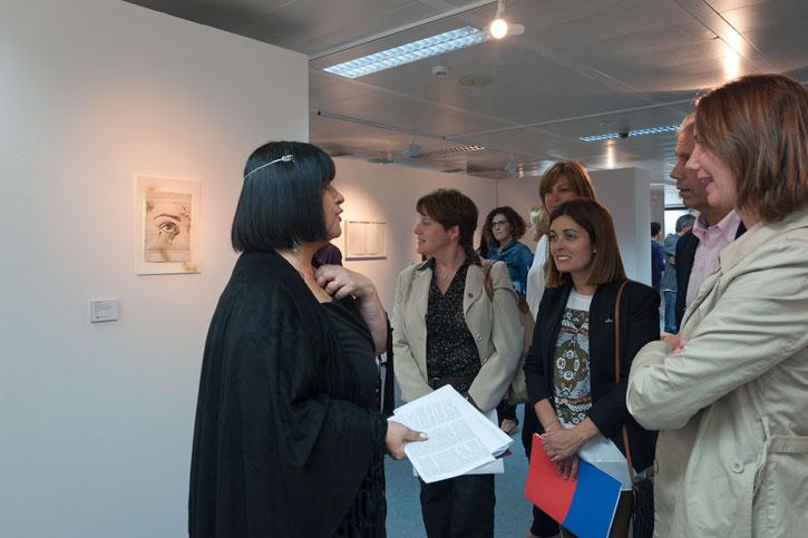 Visita guiada por la comisaria de la Exposición, Encarna Lago.