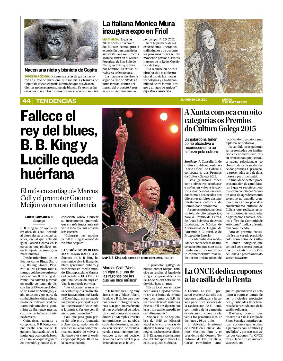 ElCorreoGallego-ExpoSasDiosas-16Mayo2015