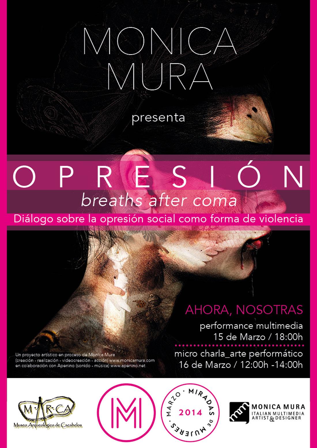 cartel-OPRESIÓN-Monica_Mura-MARCA-Museo-Cacabelos-web